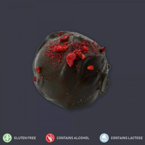 Raspberry Ruffle Truffle